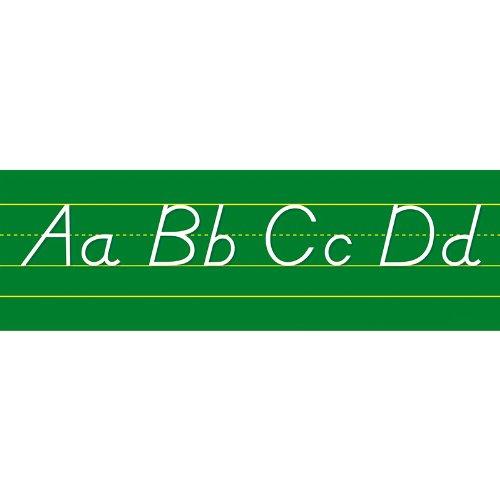 (NORTH STAR TEACHER RESOURCE Alphabet Lines Modern Manuscript Bulletin Board Set)