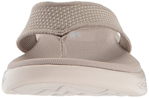 Skechers Performance Frauen unterwegs 600-15300 Flip-Flop Taupe