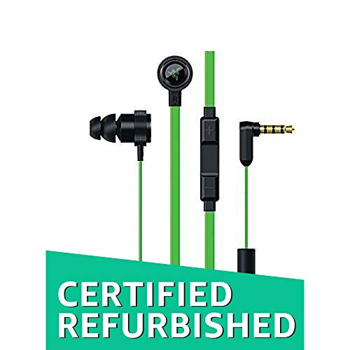 Razer Hammerhead Pro V2 - Flat Style Cables with Omnidirectional Microphone and Volume Controls (Certified Refurbished)