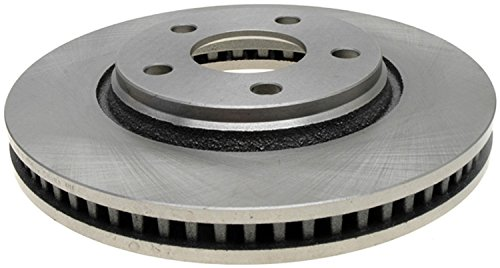 ACDelco 18A1621A Advantage Non-Coated Front Disc Brake Rotor