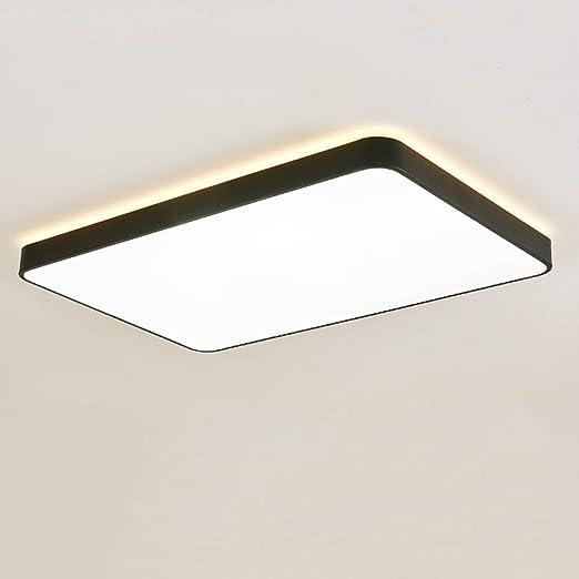 JDMYL Lámpara De Techo LED, Lámpara De Techo De Hierro Forjado ...