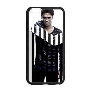 iphone 4 4s Case, [Ian Joseph Somerhalder] iphone 4 4s Case Custom Durable Case Cover for iPhone6 TPU case(Laser Technology)