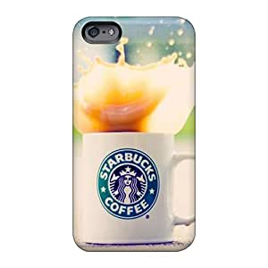 DeanHubley Apple Iphone 6 Anti-Scratch Hard Cell-phone Case Unique Design Fashion Starbucks Pictures [arC1271VDWC]
