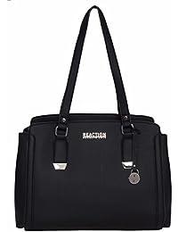 Franny Satchel Handbag (Black)