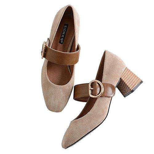 GAOLIM Zapatos De Mujer Con Negrita Y
