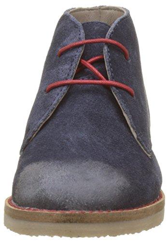 Kickers Unisex-Kinder Tymba Desert Boots Blau (Marineblau)
