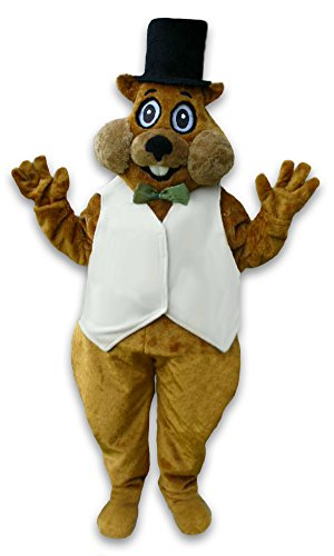 cjs huggables Mascots USA Custom Pro Low Cost Groundhog Wejack Mascot Costume by cjs huggables