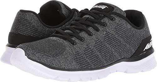 Avia Mens Avi-Rift Running Shoe Black/Iron Grey/White 13 M US