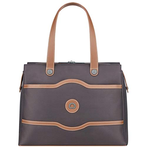 - Delsey Luggage Chatelet Soft Air Shoulder Bag, Chocolate, One Size