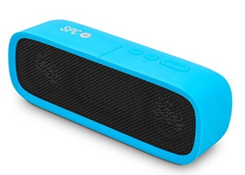 SPC Bang Speaker Altavoz Portátil Azul 4403A - Altavoces portátiles (2.0 Canales, De 2 vías, 6 W, Inalámbrico y alámbrico, 2.1+EDR, A2DP): Spc: Amazon.es: ...