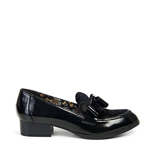 Ruby Shoo Mujeres Gabriella Loafer Pumps Black