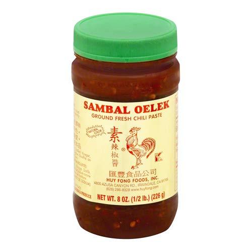 (Sambal Oelek Ground Fresh Chili Paste (Pack of 2))