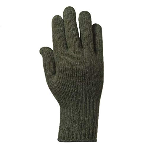 Us Army Black Olive Foliage Green Drab Grey Gray Wool Blend D3A Glove Liners