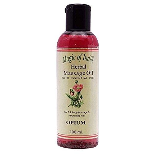 Magic of India Massage Herbal Essential Oil for full Body Opium Fragrance Oils 100ml