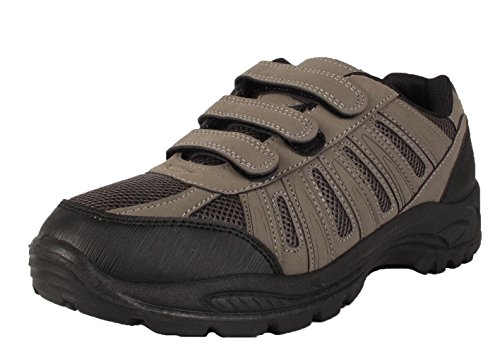 hiking boots walking velcro strap trail trekking trainers shoe