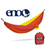 ENO - Eagles Nest Outfitters DoubleNest Hammock, Portable Hammock for Two, Sunshine