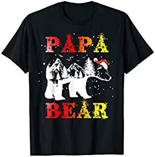 [Featured] Papa Bear - Papa Bear Christmas - Funny Christmas in ALL styles | Size S - 5XL