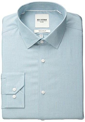 Ben Sherman Stripe Spread Collar