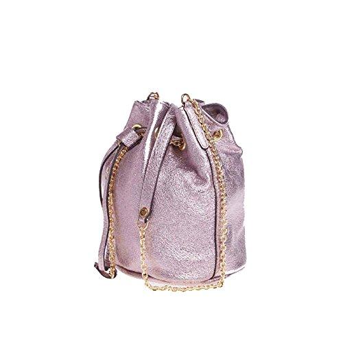 Borsa a secchiello con tracolla Krystal - GIANNI CHIARINI Pink