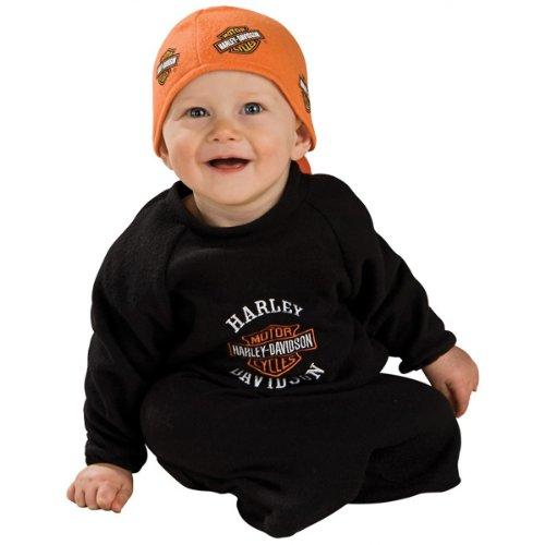 Lil' Biker Guy Harley Davidson Costume - Newborn -