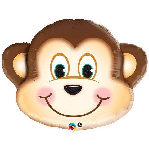 Mischief Monkey 35 Inches Xl Supershape Mylar -