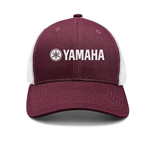 Unisex Maroon Baseball Hats for Mens Womens Outdoor Yamaha-Guitar-Logo- Caps