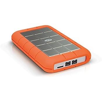 LaCie Rugged Triple USB 3.0 / Firewire 800 1TB Portable Hard Drive LAC301984