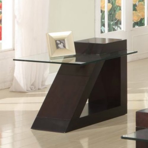 Homelegance Jensen End Table in Espresso (Homelegance Contemporary End Table)