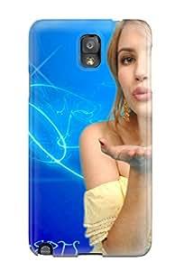 New Emma Roberts?wallpaper Tpu Case Cover, Anti-scratch JenniferEileen Phone Case For Galaxy Note 3