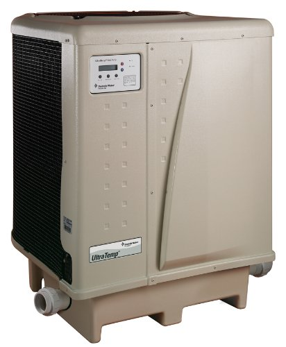 Pentair 460938 UltraTemp 100 I High Performance Pool Heat Pump, Heat Only, 230 Volt, 50 Hertz, 1 Phase, Almond