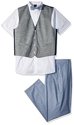 Sean John Boys' 4-Piece Dresswear Vest Set