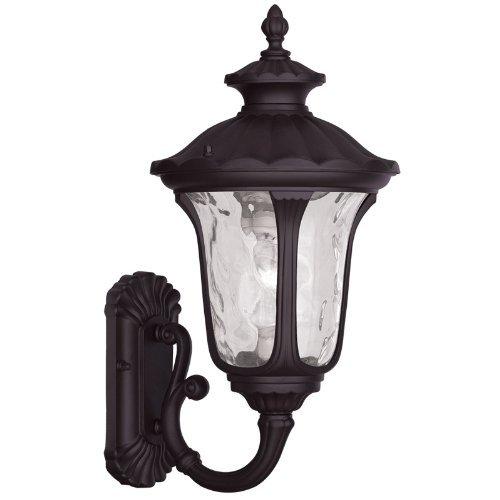 Livex Lighting 7852-07 Oxford 1 Light Outdoor Wall Lantern, Bronze by Livex Lighting