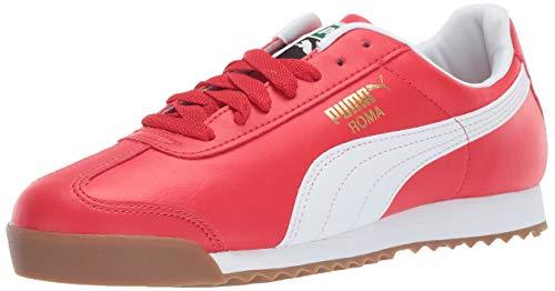PUMA Men's Roma Basic Sneaker high Risk red w, 7.5 M US ()