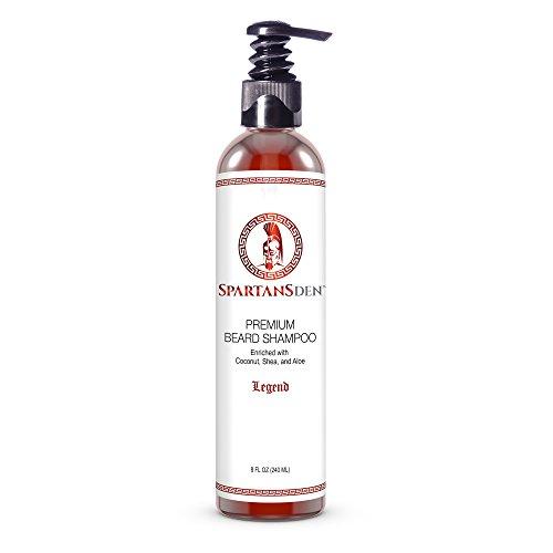 Spartans Premium Beard Shampoo Ounce