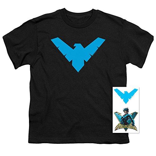 Popfunk Youth Nightwing Logo T Shirt for Boys