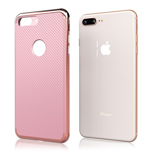 Nicexx [2018 Updated] iPhone 7 Plus Case/iPhone 8 Plus Case [New] Premium Luxury Slim Design Cell Phone Case [8 ft. Grade Drop Tested] for iPhone 7 Plus/iPhone 8 Plus - (Rosegold) by Nicexx