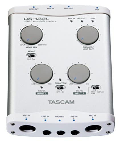 TASCAM USB 2 0 Audio midi Interface