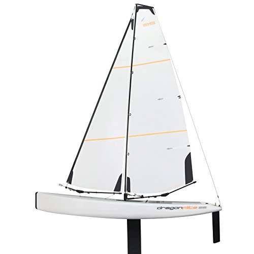 Radio Controlled Sailboat (DragonFlite 95 950mm / DF95 Class RC Sailboat Plug N Play (PNP))