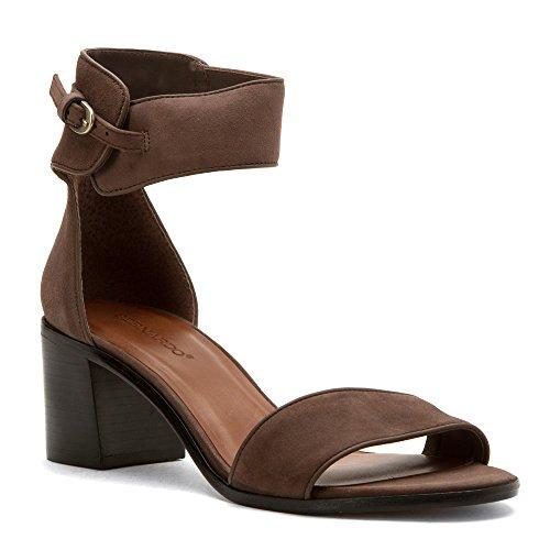 Bernardo Women's Blythe Heeled Sandal, Smoke, 7 M US