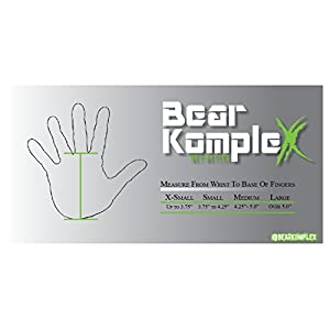 Bear KompleX 3 hole hand grips and gymnastics grips Great for Cross Training, pullups, weight lifting, chin ups, training, exercise, kettlebell, and more. Protect your palms from rips! LRG 3hole TAN