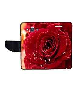KolorEdge Printed Flip Cover For Samsung Galaxy A3 Multicolor - (45KeMlogo10106SamA3)