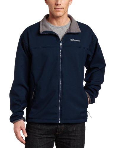 Columbia Mens Big Extended Ascender Softshell Jacket, Navy,