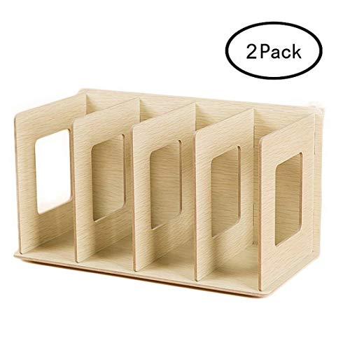 HMANE Mini Books Shelves, Creative Wooden DIY Desktop for sale  Delivered anywhere in USA