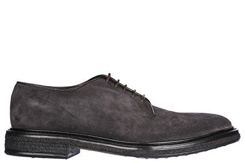 en à Gris Derby Homme Chaussures Classiques Lacets PREMIATA Daim Sonia FHnX5xwqqR