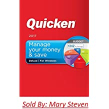Intuit Quicken Deluxe 2017 (PC-Disc) Personal Finance & Budgeting Software