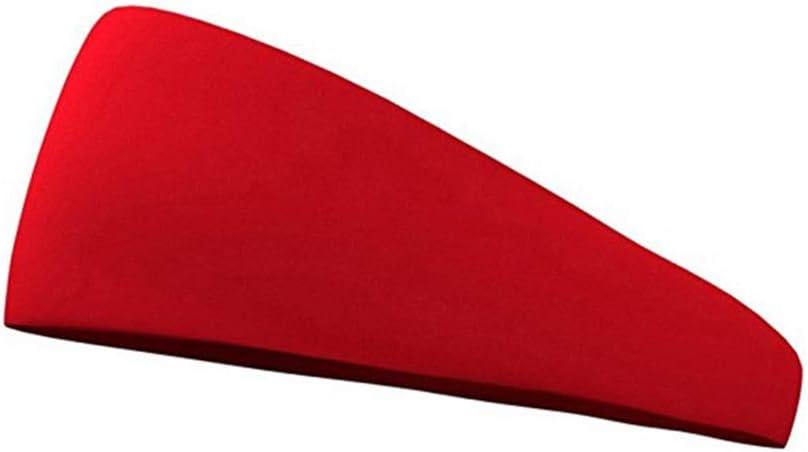 tama/ño 13,5 21cm Color Azul Fansi 1/Pieza Unisex Sport antitra antitranspirante Pelo Banda Running Fitness Jinete Yoga Outdoor Sports Pelo Banda Sencilla el/ástica Pelo Banda