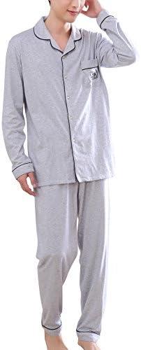 Dolamen Pijamas para Hombre, Pijamas Hombre Invierno, Hombre ...