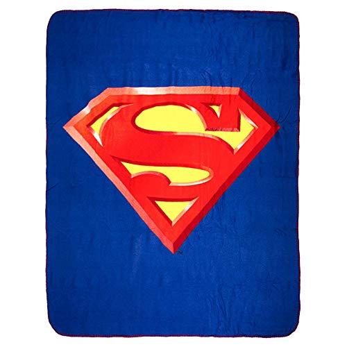 "DC Batman V Superman /""Clash/"" Super Soft Fleece Blanket Large Print Brand New"