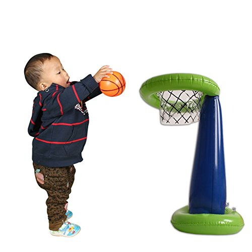 Kids Inflatable Basketball Hoop Game Setおもちゃfor Toddlers B071XVN2M7