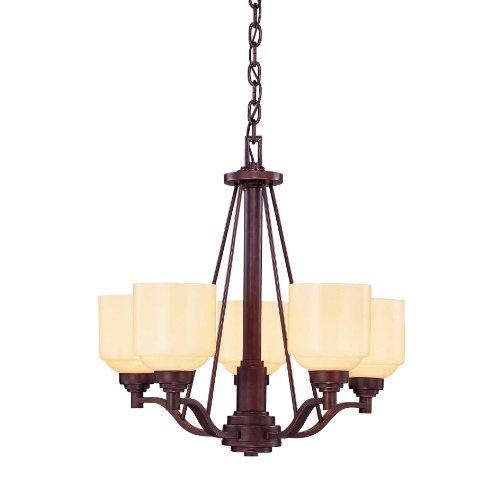 4 Light Incandescent Chandelette - Savoy House 1-4652-5-13 Wilmont 5 Light Chandelier English Bronze 5 - E Bulbs